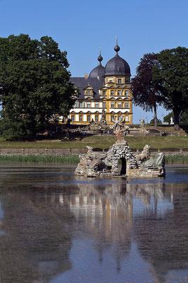 Gespiegeltes Barock (2) / Schloß Seehof Memmelsdorf - © Helga Jaramillo Arenas - Fotografie und Poesie / Juni 2015