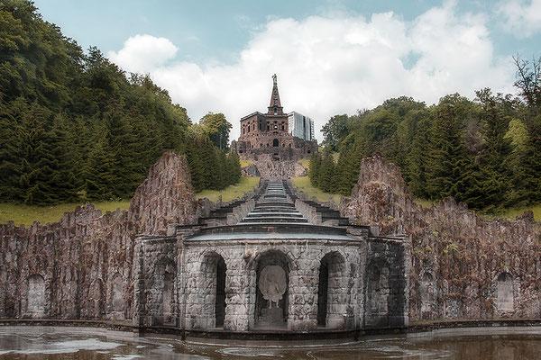Der Blick des Herkules - Kassel Wilhelmshöhe -  © Helga Jaramillo Arenas - Fotografie und Poesie / Juli 2021
