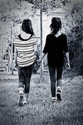 Immer Füreinander -  © Helga Jaramillo Arenas - Fotografie und Poesie / August 2013