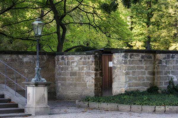 Die alte Stadtmauer -  Schloß Pillnitz / Dresden - © Helga Jaramillo Arenas - Fotografie und Poesie / November 2020