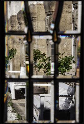 Das Drinnen und das Draußen / Bad Nauheimer Jugendstilbad - © Helga Jaramillo Arenas - Fotografie und Poesie / September 2018