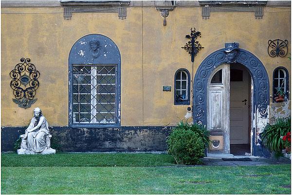 ...und wartet im stillen Garten / Potsdam - © Helga Jaramillo Arenas - Fotografie und Poesie /  Dezember 2013