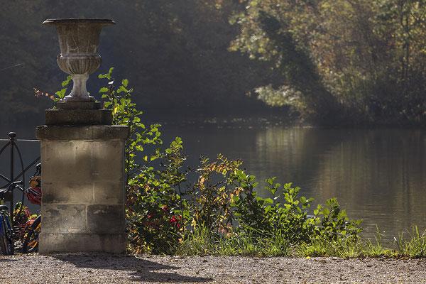 Zärtlicher Herbst - Schloß Monrepos / Ludwigsburg - © Helga Jaramillo Arenas - Fotografie und Poesie / Dezember 2016