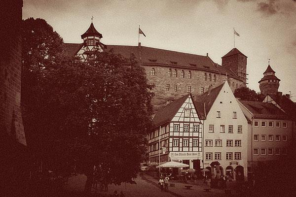 An der Burg / Nürnberg - © Helga Jaramillo Arenas - Fotografie und Poesie / Juni 2011