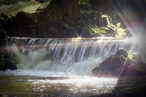 Magie von Wasser und Licht (2) - © Helga Jaramillo Arenas - Fotografie und Poesie / Oktober 2013