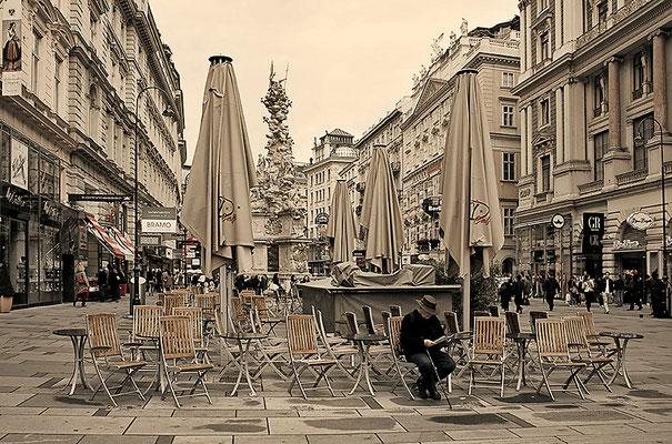 In der Ruhezone / Wien - © Helga Jaramillo Arenas - Fotografie und Poesie / August 2011