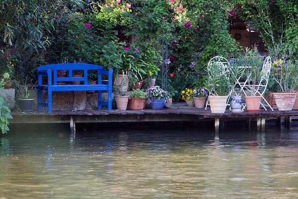 Leben am Fluss / Bamberg - © Helga Jaramillo Arenas - Fotografie und Poesie / Juni 2015