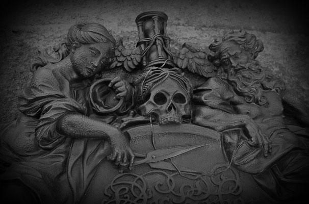 Am Ende des Lebensfadens - © Helga Jaramillo Arenas - Fotografie und Poesie  / Februar 2012