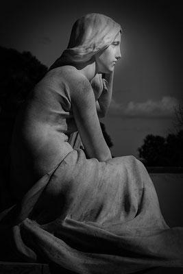 Die Gedanken am Abend (2) - © Helga Jaramillo Arenas - Fotografie und Poesie / April 2019