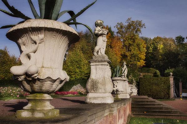 Die Entdeckung des Herbstes / Barockschloß Lichtenwalde - © Helga Jaramillo Arenas - Fotografie und Poesie / Oktober 2017