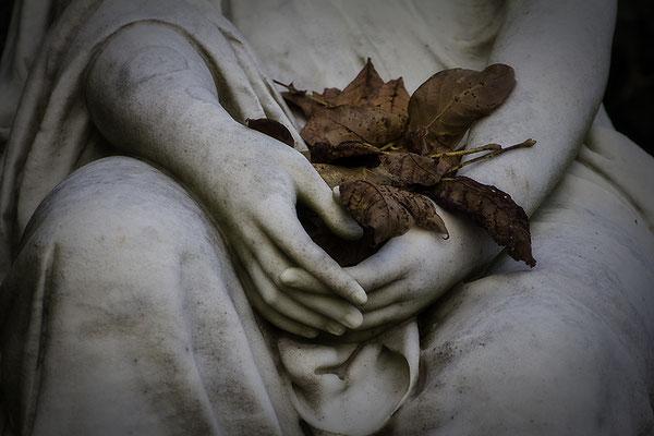 Sie trägt den Herbst in den Händen (1) - © Helga Jaramillo Arenas - Fotografie und Poesie / Dezember 2016