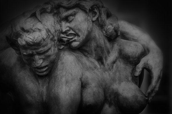 Der gebissene Faun - © Helga Jaramillo Arenas - Fotografie und Poesie / März 2019