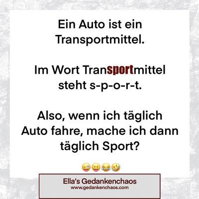 Autofahren ist Sport