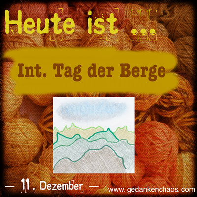 Internationaler Tag der Berge