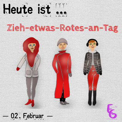 Zieh-etwas-Rotes-an-Tag