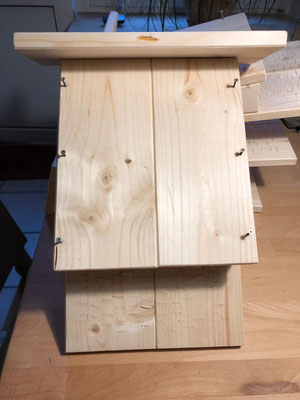 Ina Künstlers Idee: Nistkästen für Fledermäuse...