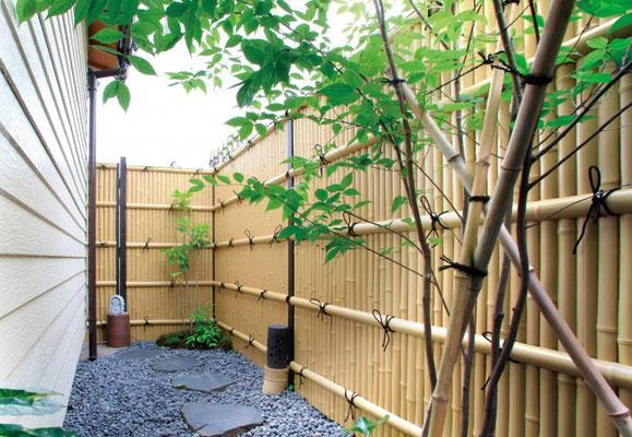 タカショー エバーバンブー15型セット H1.800 趣真竹