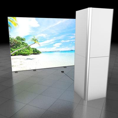 Fotobox (auch mit anderen Hintergrundmotiven kombinierbar)