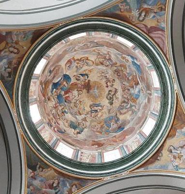 Cúpula en la capilla de San Climente en Sant Mateu.