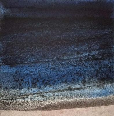 """avond licht"" no.4, aquarelle on aquarelle paper"