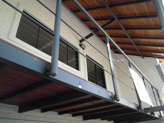 Balcon vivienda en tablada Park