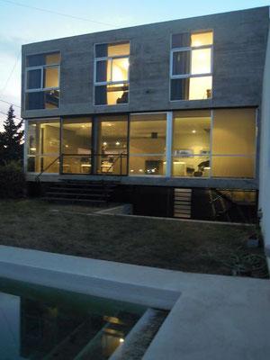 Casa desde el patio