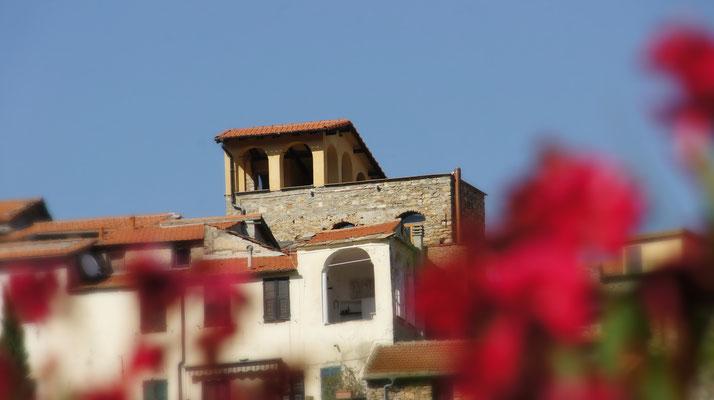 Ferienhaus Dolcedo: de Sonnaz I, Westansicht