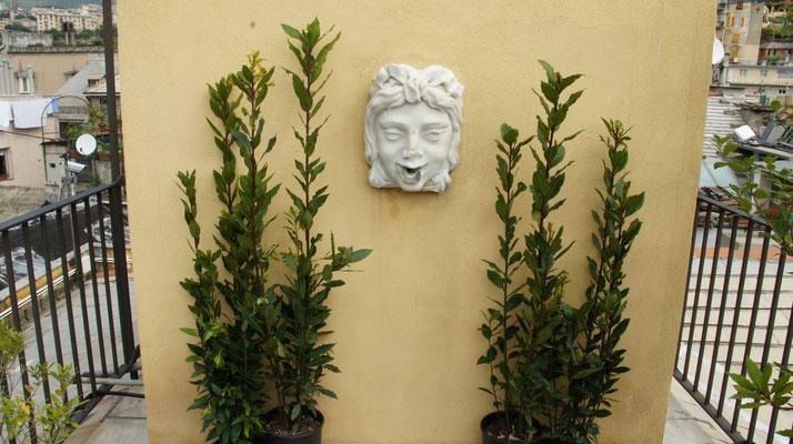 Genua, Palazzo Spinola, Dachterrasse