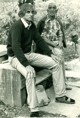 Albert Obermüller und Antonio Benza um 1977
