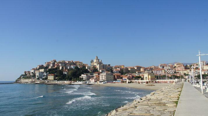 Porto Maurizio vom Yachthafen