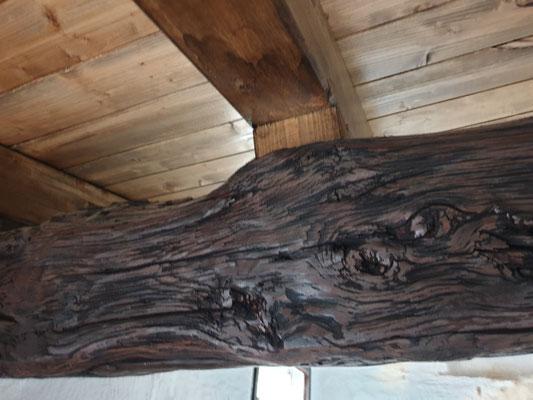 Balken, neues Dach