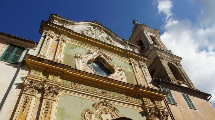 Dolcedo-Piazza, Kirche San Tommaso