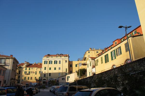 Imperia-Porto Maurizio, großer Parkplatz