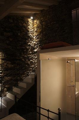 Ferienhaus Dolcedo: de Sonnaz I,  Schlafzimmer 2 mit Bad en suite
