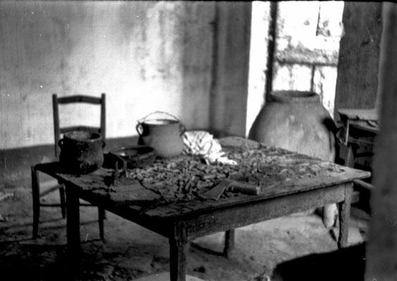heutige Wohnküche 1973