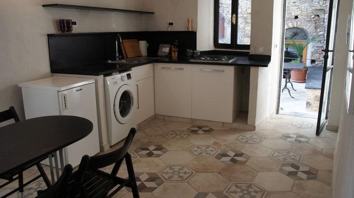 Ferienhaus Dolcedo: Centrale I, Küche