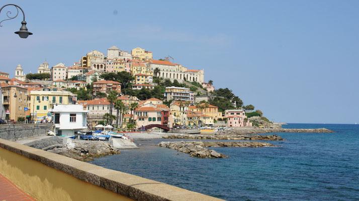 Porto Maurizio vom Prino aus gesehen