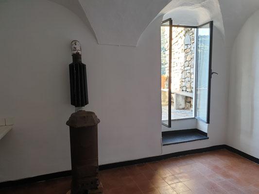 Küche, Ausgang zur Terrasse