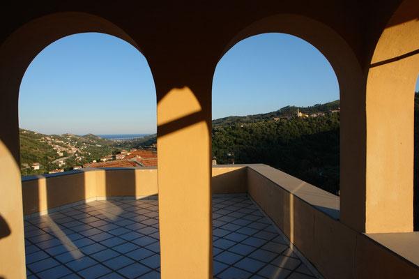 Loggia und Dachterasse mit Panorama