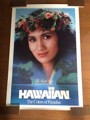 ハワイアンエアラインビンテージポスター