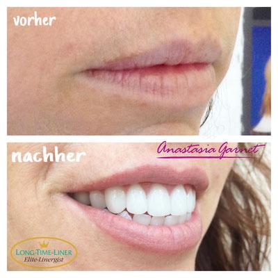 Permanent Make-up Lippen naturell