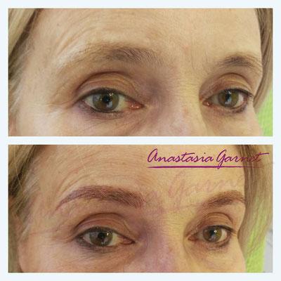Permanent Make-up Augenbrauen mit Härchenzeichnung