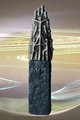 Skulptur Fundament des Zusammenhalts