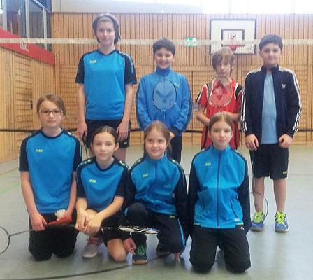 Die Teilnehmer (U11-U15) beim 3. Ranglistenturnier