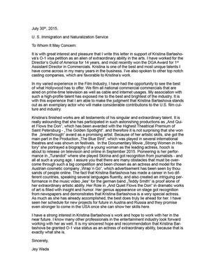 Letters of Recommendation | Empfehlungsschreiben | Рекомендательные ...