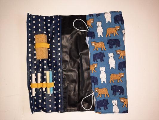 Tafel-to-go, blau mit Bären