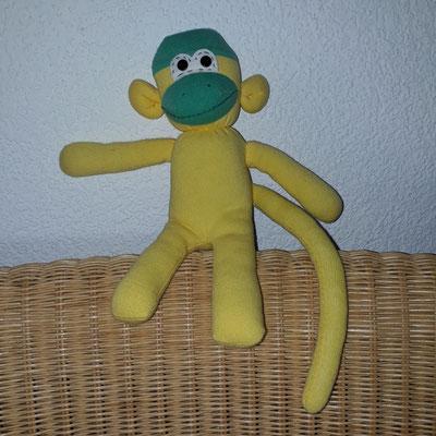 Sockenaffen, gelb-grün