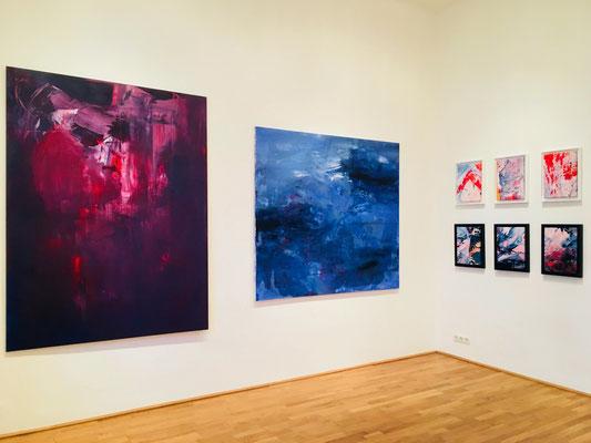 Galerie Felix Höller Vienna ERZSEBET NAGY SAAR Neueröffnung Group Exhibition 2018