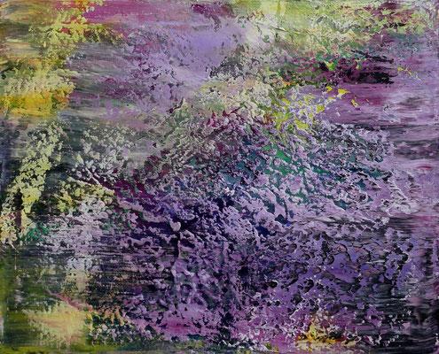 """""""Präsenz III"""" Acrylic on canvas 80x100 cm 2020"""