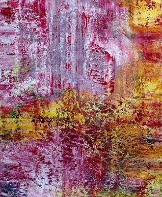 """""""Präsenz I"""" Mixed Media on canvas 140x170 cm 2020"""